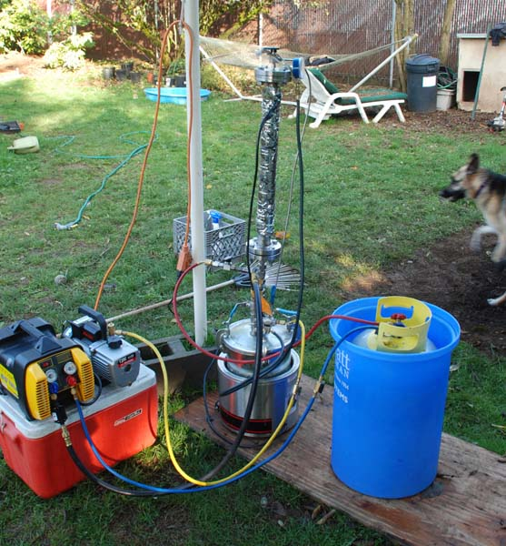 BUTANE EXTRACTION AND RECOVERY SYSTEM - Hash & Oil - UK420