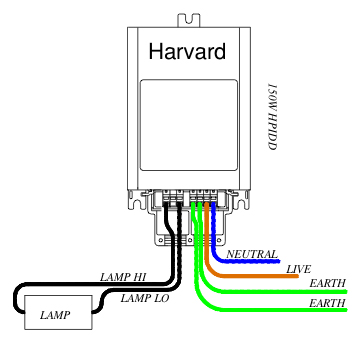 advance sign ballast wiring diagram need help    wiring    a 150w harvard    ballast    lighting uk420  need help    wiring    a 150w harvard    ballast    lighting uk420