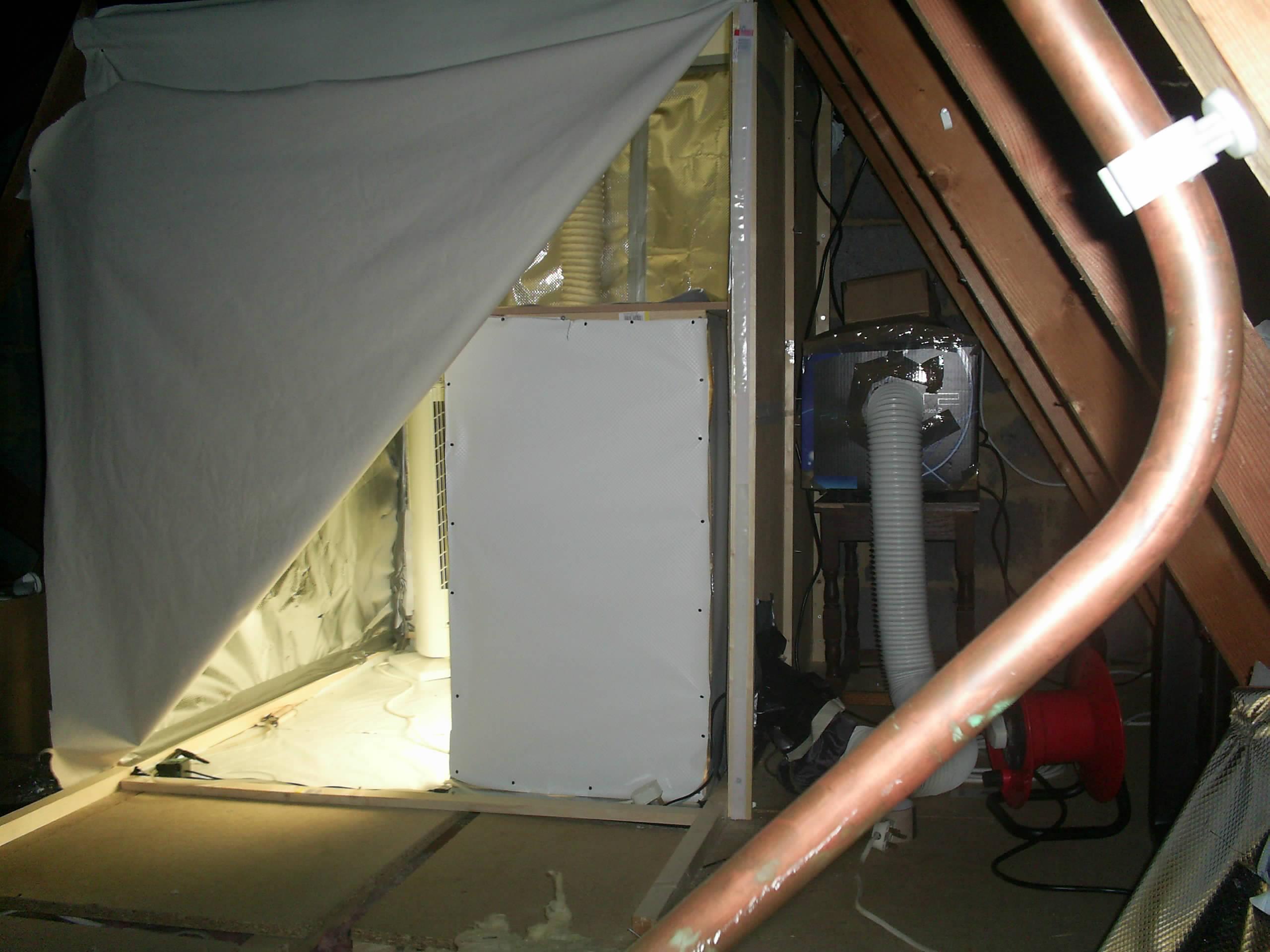 Attic Grow Tent Amp Roof Qube 1 5m Rq150 Sc 1 St Grown Up
