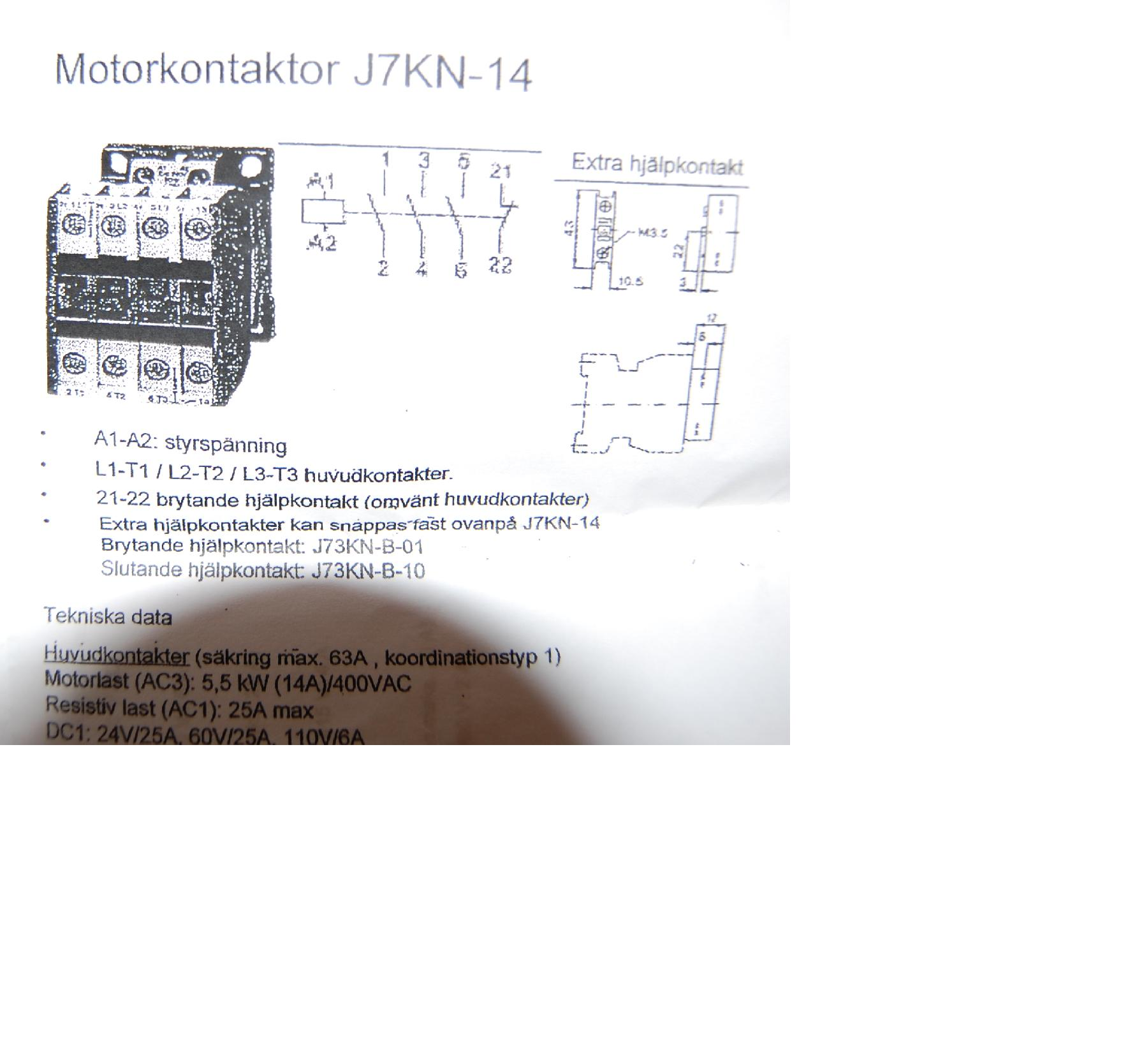 Imo Relay Wiring Diagram : Imo contactor wiring diagram images