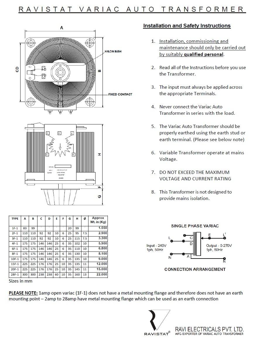 Jh U0026 39 S Variac Fan Controller - Basic Model - Page 4