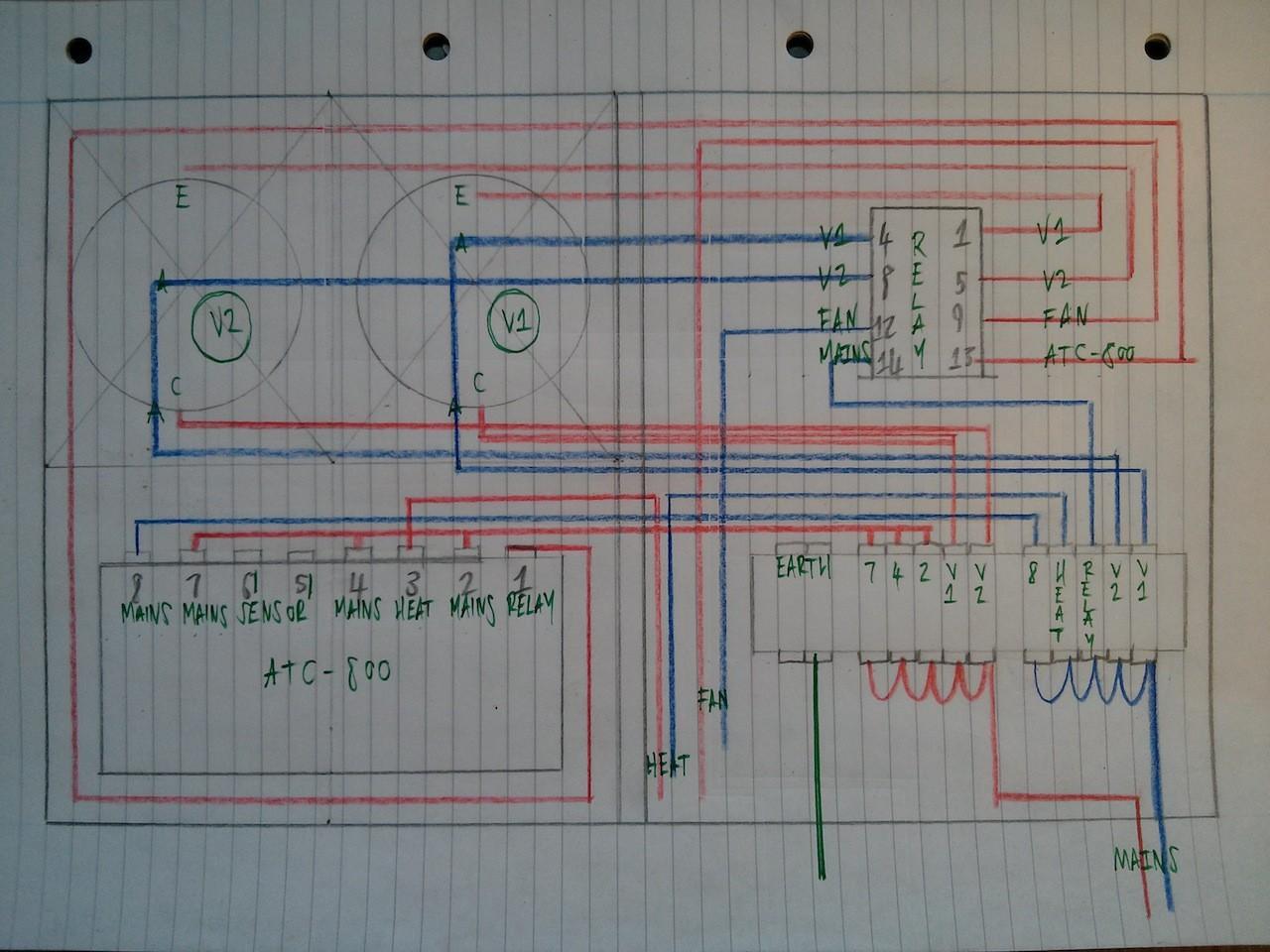 Variac Fan Controller Wiring Diagram Wikie Cloud Design