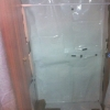 black and white sheeting added