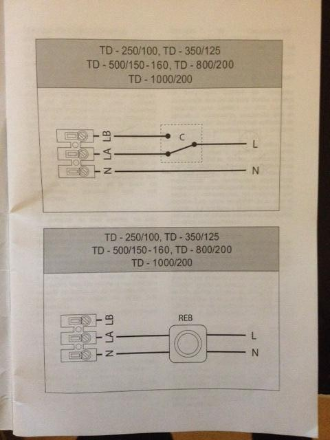 Td-silent Wiring Question - Environment