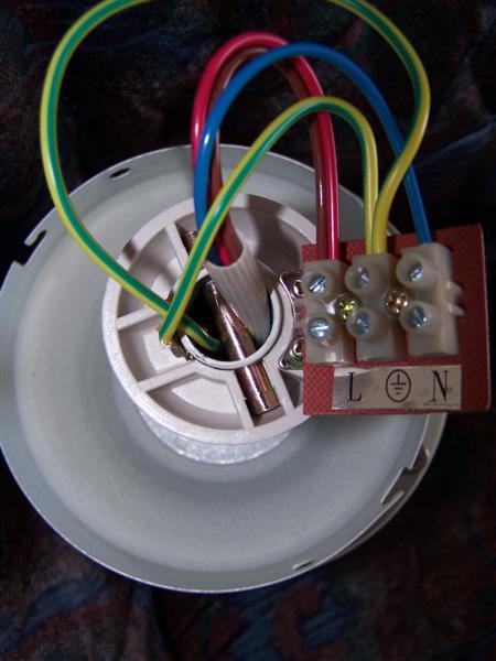 Help Wiring A Ceiling Fan Please - Lighting