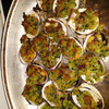 Herb crusted clam
