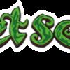 Sweet Seeds Text Logo - Stock Image