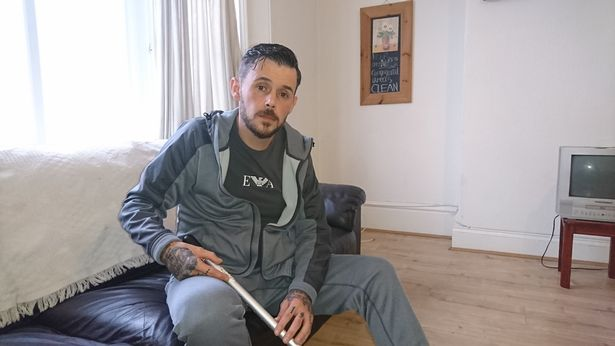 Jai Templeman fell on hard times in December 2017 after the breakdown of a relationship