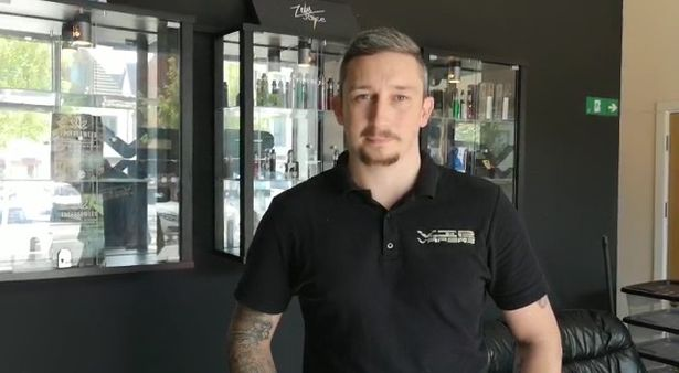 Lee Whittaker, co-owner of Vaping is Personal