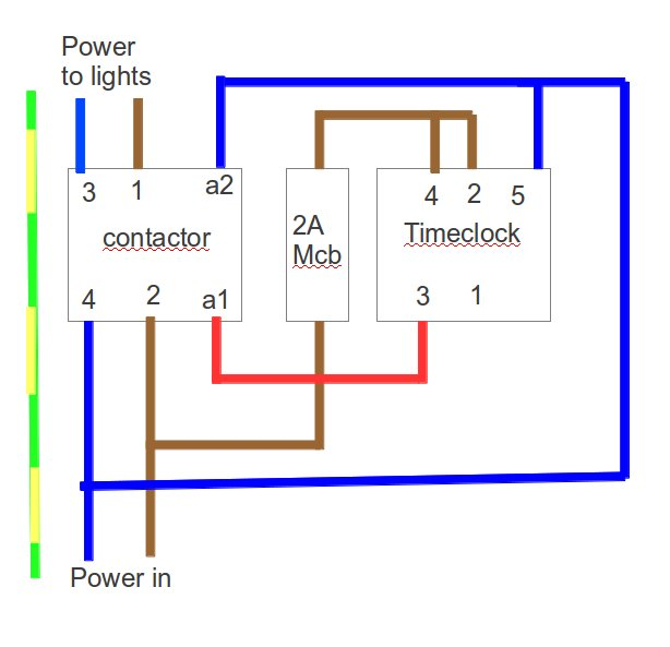 single wiring with diagram timer phase contactor diy enthusiasts rh okdrywall co