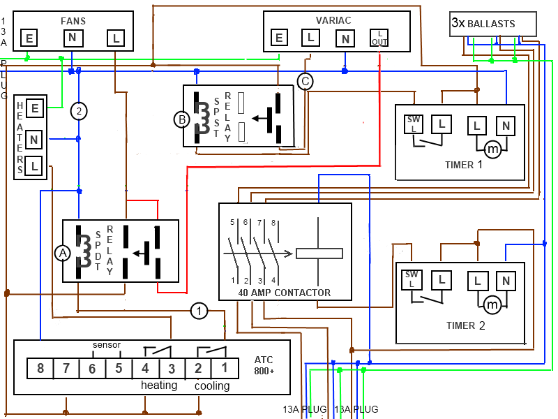 wiring diagram for grow room electrical wiring diagram for a room