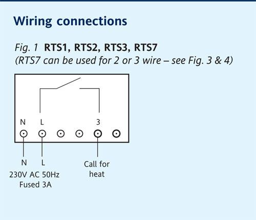 drayton rts1 thermostat d i y kit uk420